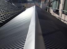 文京区|瓦屋根から金属屋根に葺き替え工事